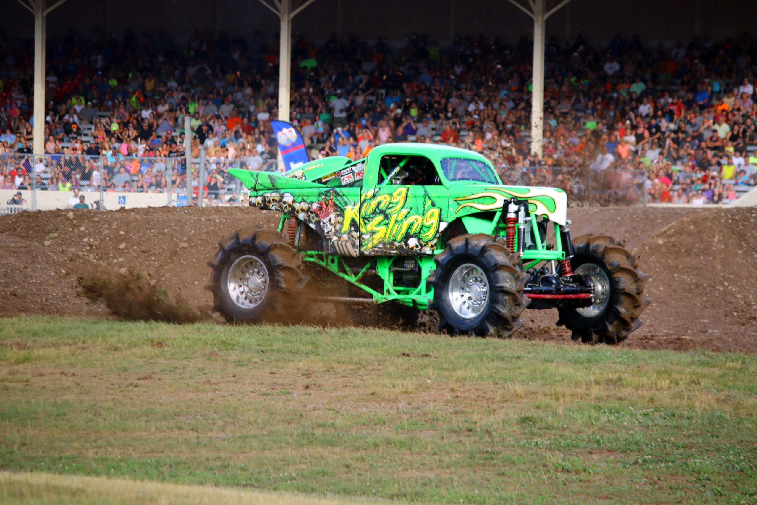 Dennis Anderson Returns to Driver's Seat with Mega Trucks at Indy 4-Wheel Jamboree